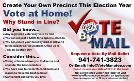 vote by mail early voting information