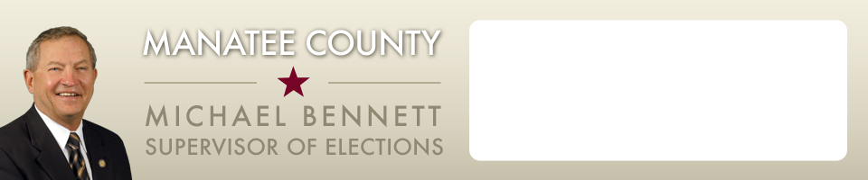 Manatee County Michael Bennett Supervisor of Elections